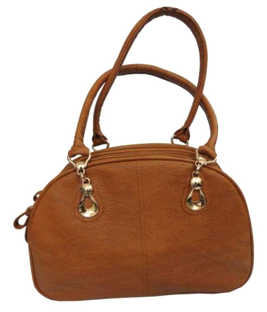 Battua Wala Brown Faux Leather Shoulder Bag