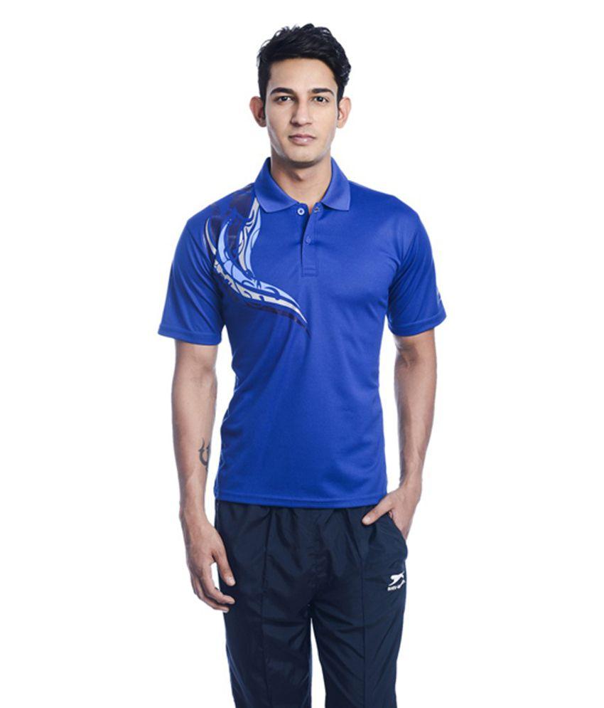 Shiv Naresh Printed Men's Polo Neck T-Shirt