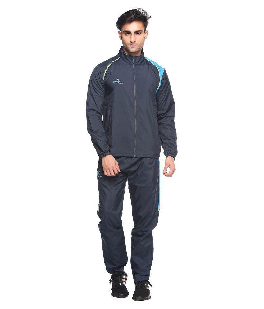 Sport Sun Navy Polyster Track Suit