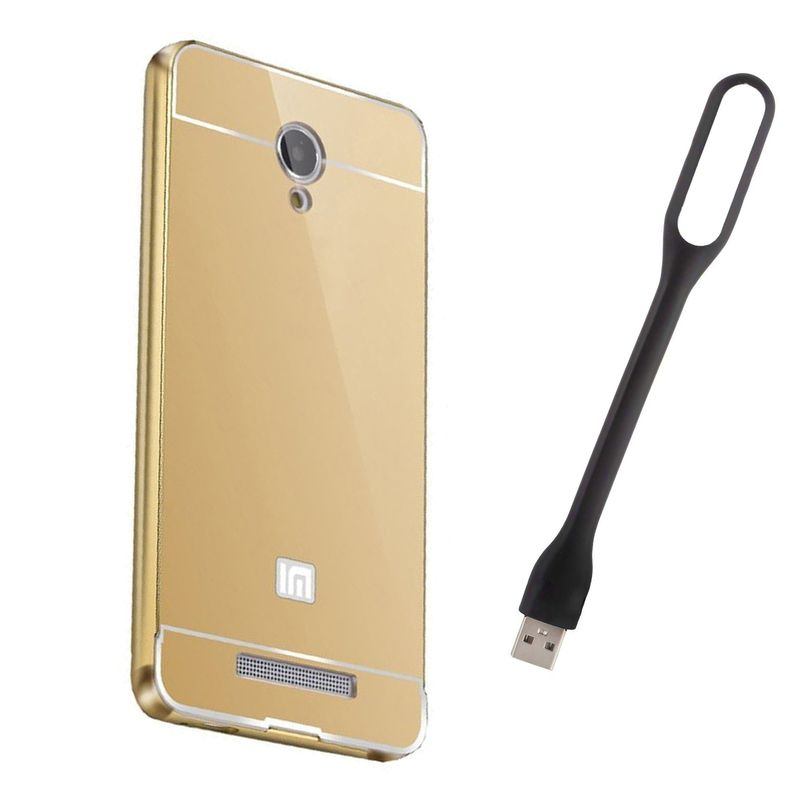 Mirror Back Cover For Xiaomi Mi4 + Usb Light free by Style Crome.