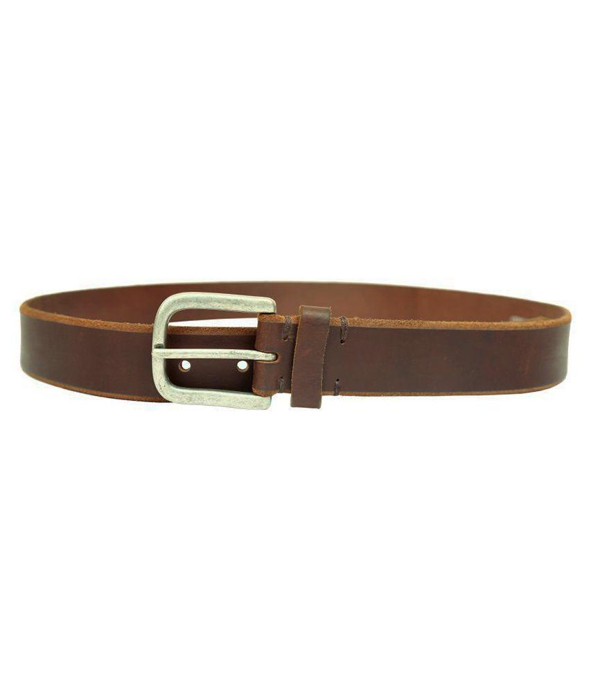 Blue Oak Brown Leather Casual Belts