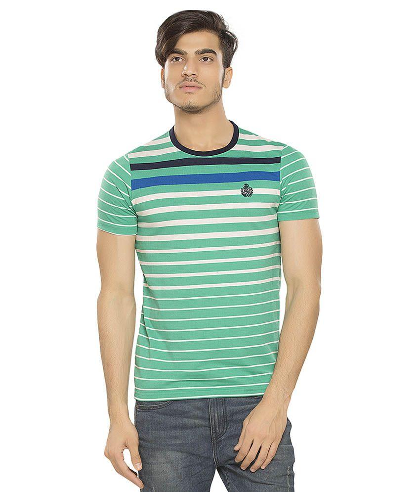 Bonaty Green Round T-Shirt
