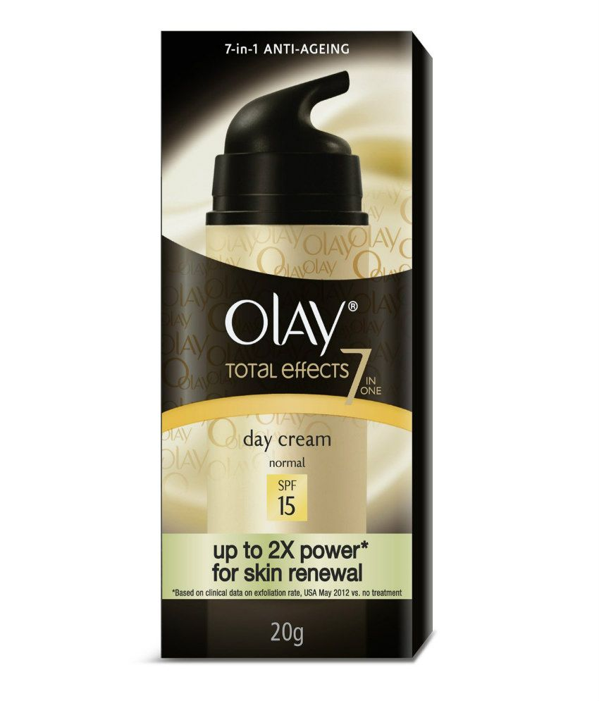 Olay Total Effect 7 IN 1 Anti Ageing Skin Cream (Moisturizer) Normal SPF15 20 gm