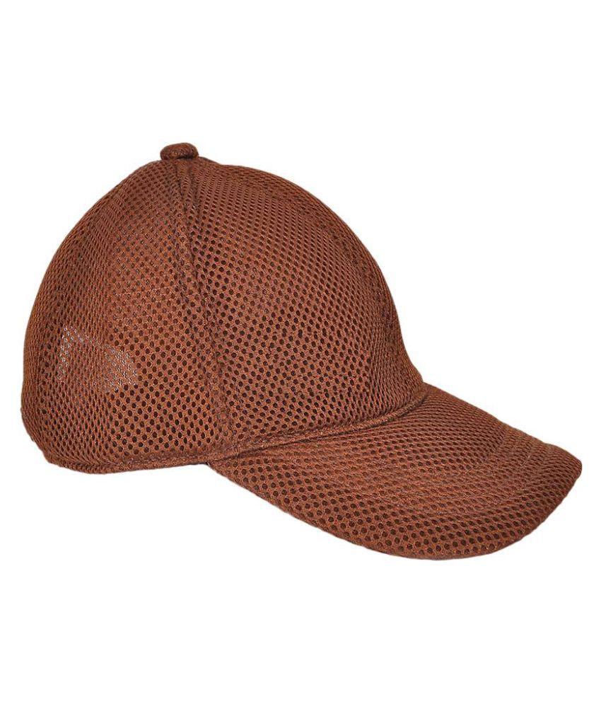 Shiv Naresh Brown Plain Cotton Caps