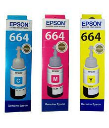 Epson Tricolor Ink Pack of 3