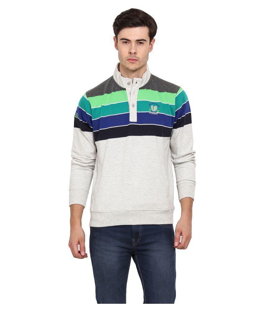 Duke Grey High Neck T-Shirt
