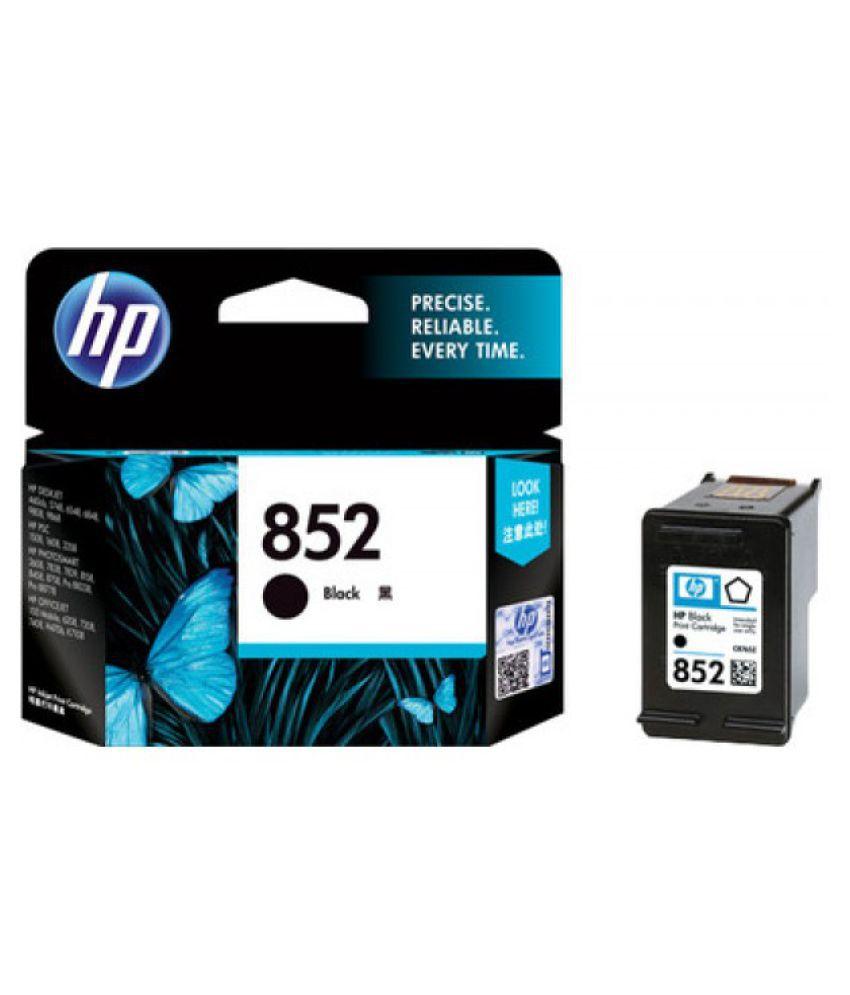HP Enterprises 852 Black Ink Cartridge Single
