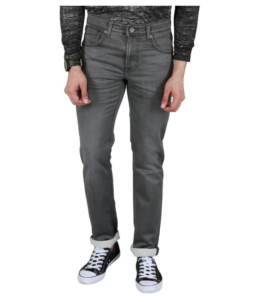 Killer Grey Slim Solid Jeans