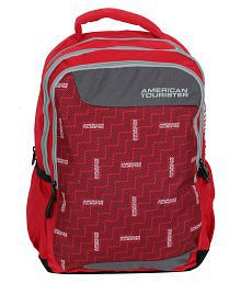 American Tourister Red Backpack