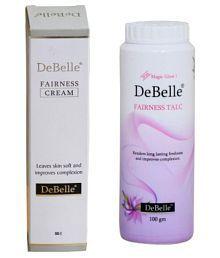 DeBelle Fairness Talc & Fairness Cream Antioxidants Bath Kit Pack of 2
