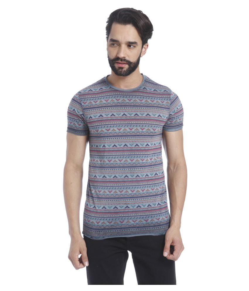 Jack & Jones Multi Round T-Shirt