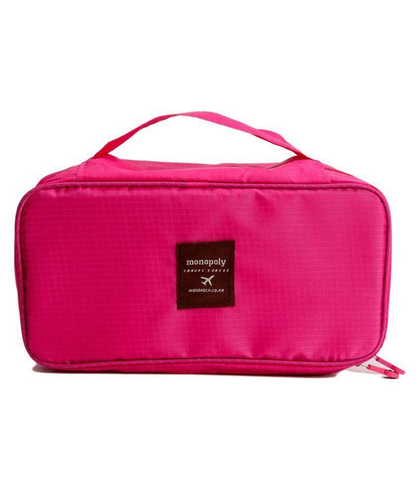 Kanha Pink Travel kits - 1 Pc
