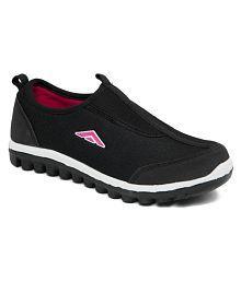Asian RIYA-01 Black Running Shoes