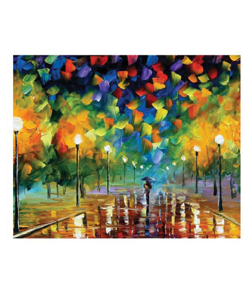 Sleep Nature's Canvas Art Prints Without Frame Single Piece