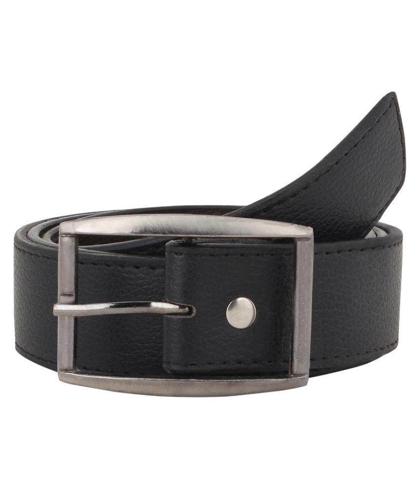 Havello Black Leather Formal Belts