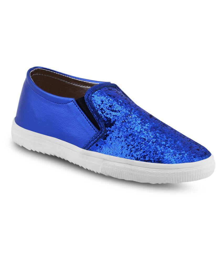Get Glamr Blue Sneakers