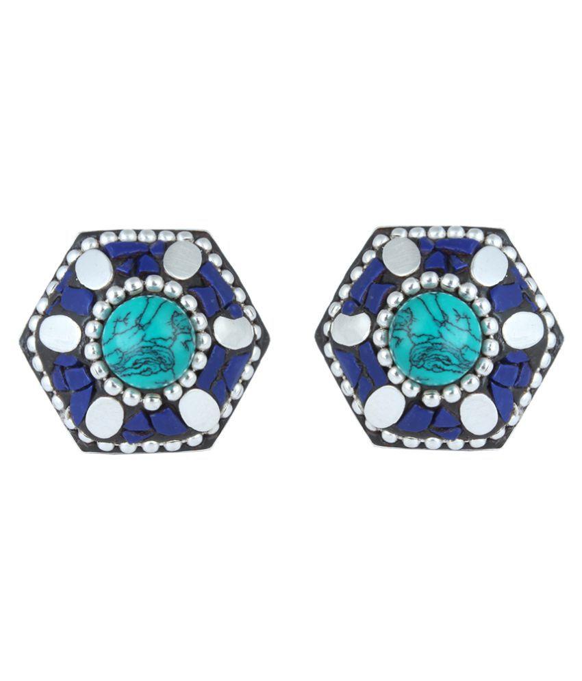 Waama Jewels Multicolour Stud Earrings