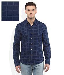 Levis Blue Regular Fit Shirt