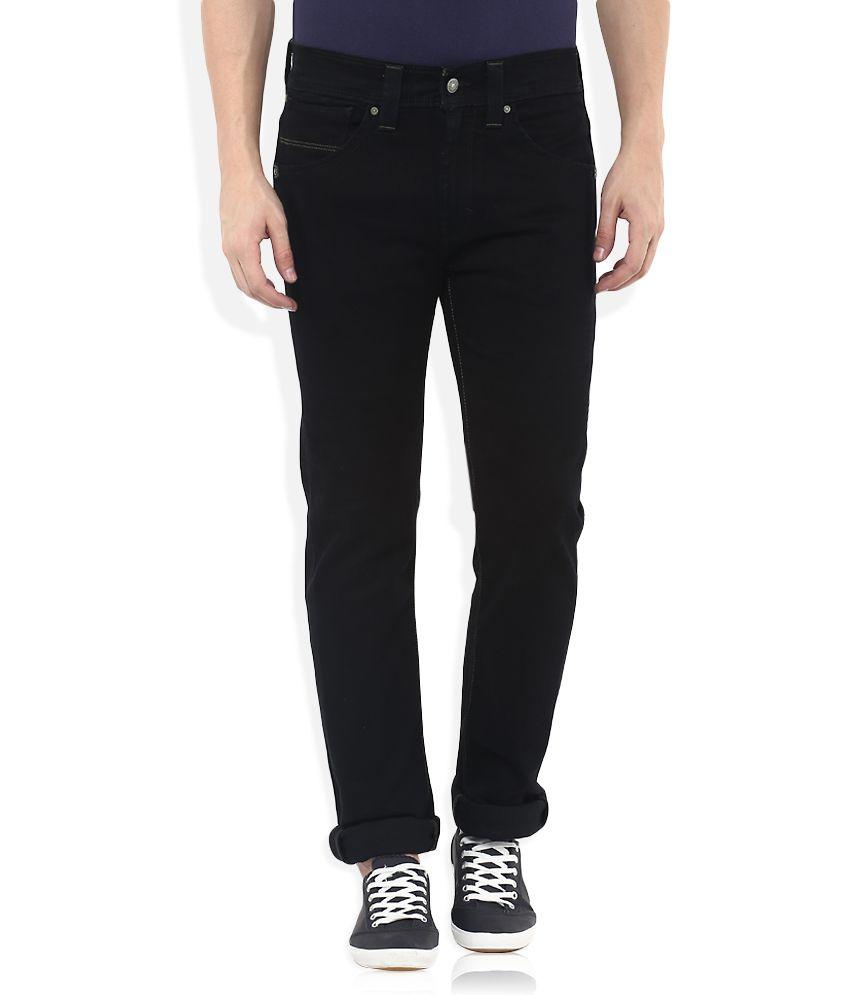 Levis Black 513 Slim Fit Jeans
