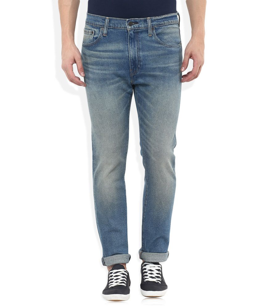 Levis Blue 505C Slim Fit Jeans
