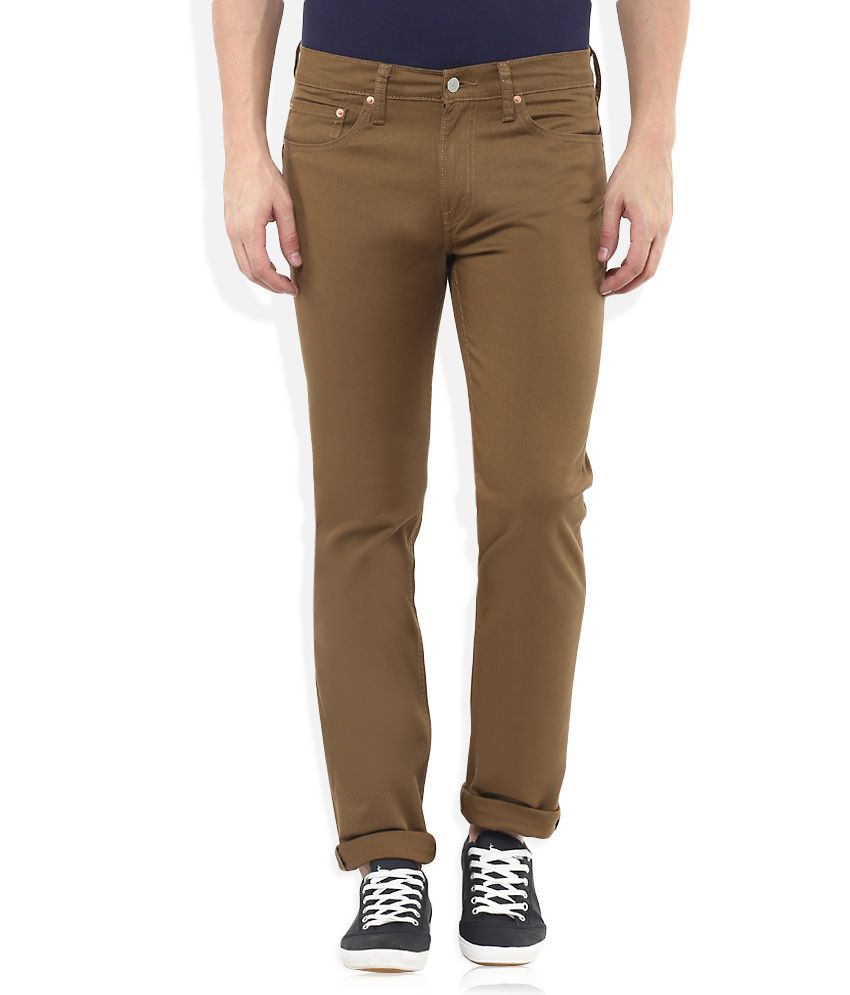 Levis Brown 511 Slim Fit Jeans