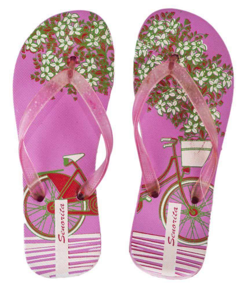 Kirlu Pink Slippers