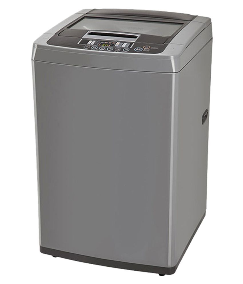 lg 65 kg t7567tedlh fully automatic top load washing machine silver