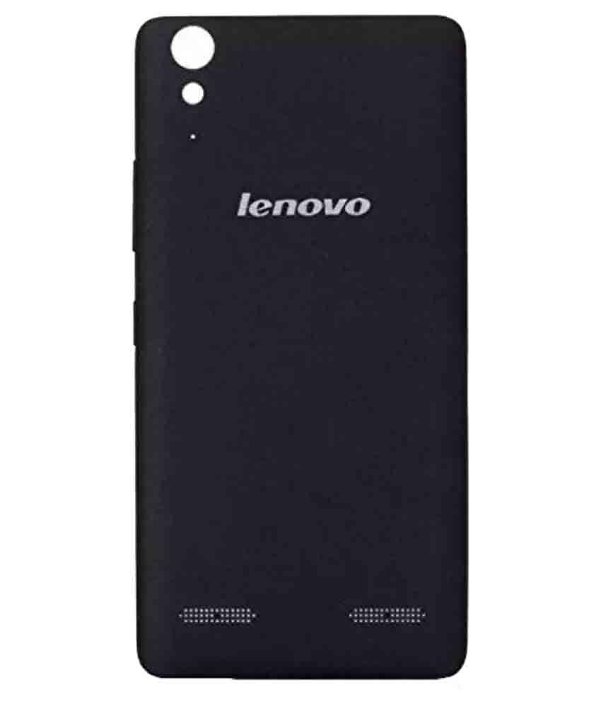 the best attitude e6542 79dc7 Lenovo A6000 Original Back Panel By ShineStar-Black