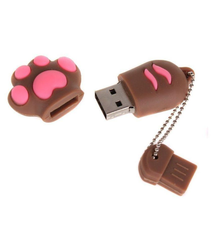 Quace Pawbrown32 32GB USB 2.0 Fancy Pendrive