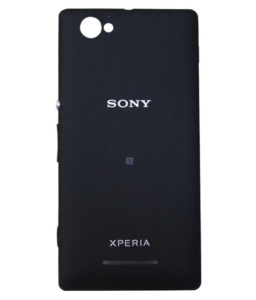 quality design 595af 7fc22 Sony Xperia C Original Back Panel by Shinestar - Black - Mobile ...