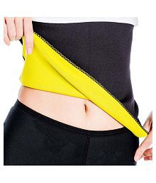 Gold Dust Slim Sweat Shapper Belt - Black