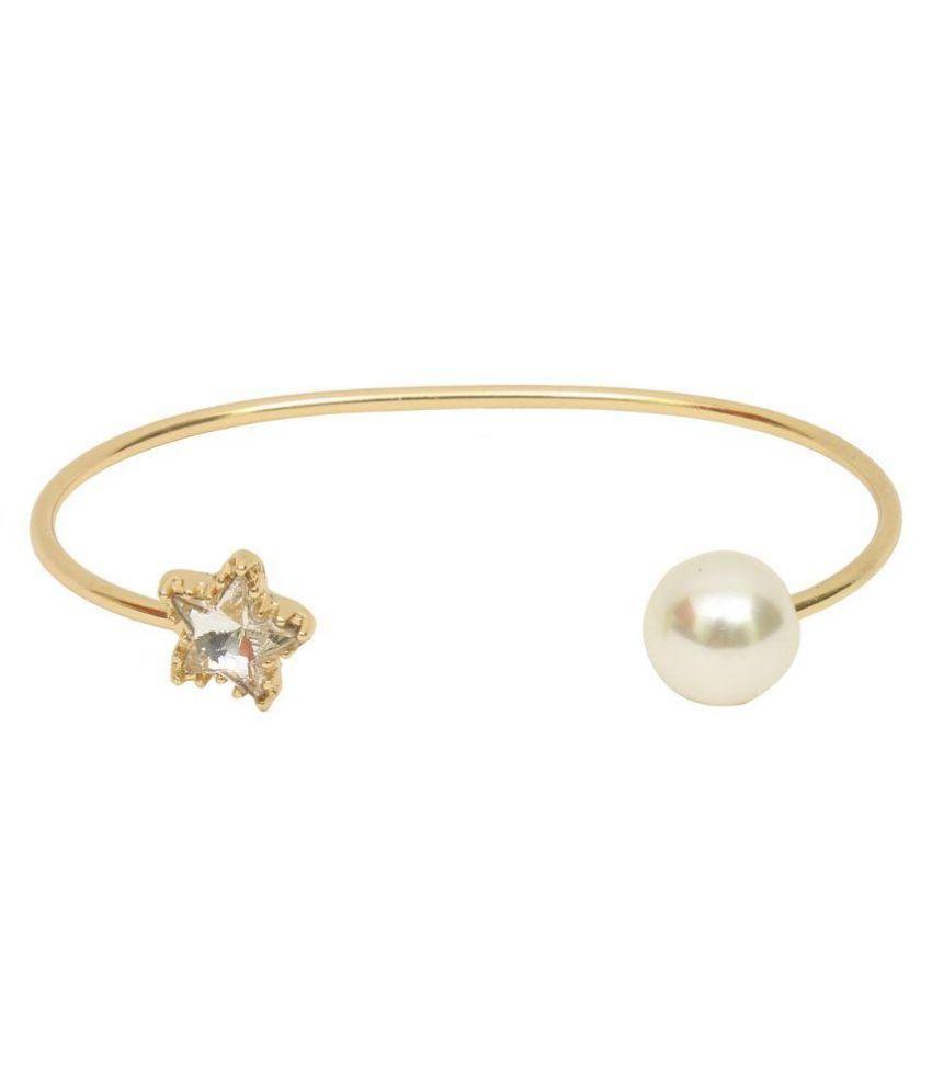 GM International Golden Colour Brass Bracelet For Women