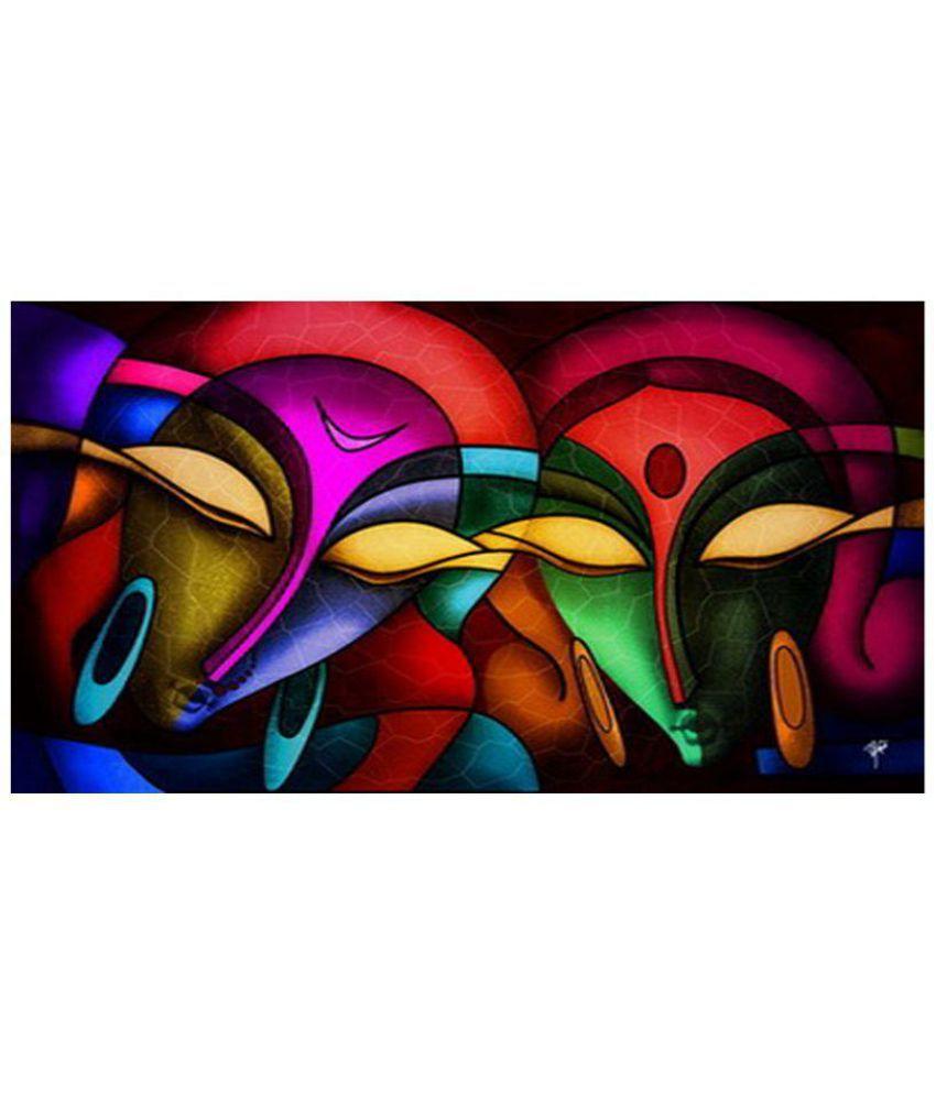 Ray Decor Modern Canvas Art Prints Without Frame Single Piece