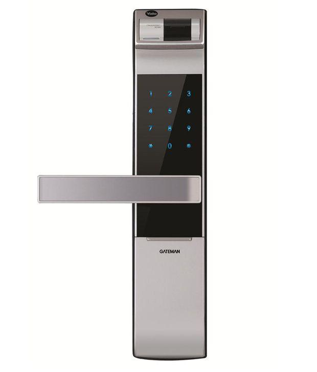 Buy Yale Fingerprint, PIN Code And Mechanical Key Lock YDM 4109