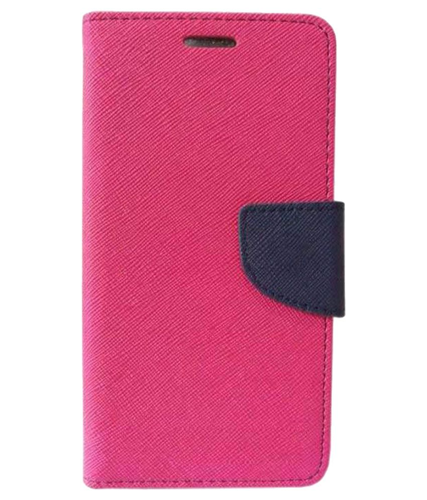 Nokia Lumia 638 Flip Cover by Zocardo - Pink