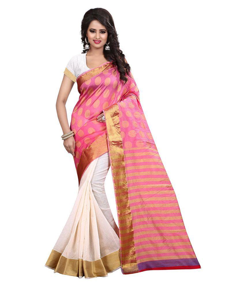 Fashion Storey Multicoloured Cotton Silk Saree