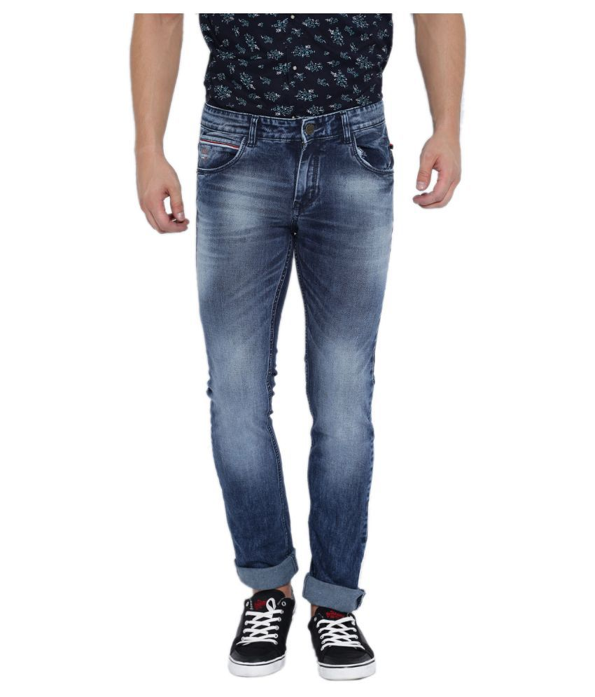 After8 Jeans Blue Slim Faded