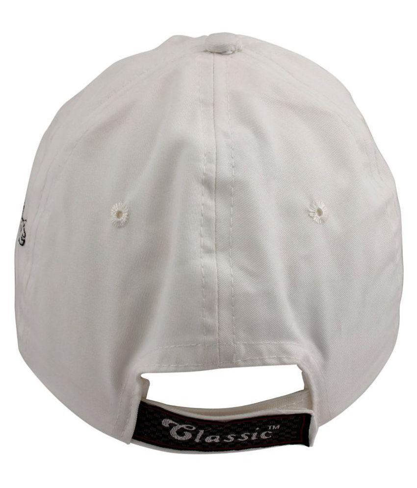 dd62744e42d Copperzeit White Sports Cap  Buy Online at Low Price in India - Snapdeal