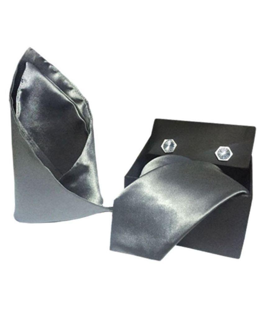 Vibhavari Gray Casual Necktie
