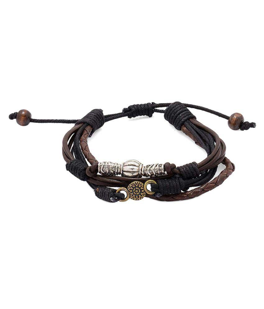voylla multicolour band bracelet for buy at