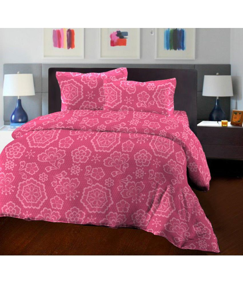 7823e8a17 46% OFF on Bombay Dyeing - Florentine - Contemporary - 100% Cotton Double  Bed Sheet on Snapdeal