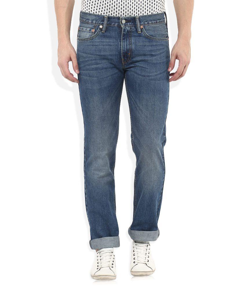 Levis Blue 511 Slim Fit Jeans