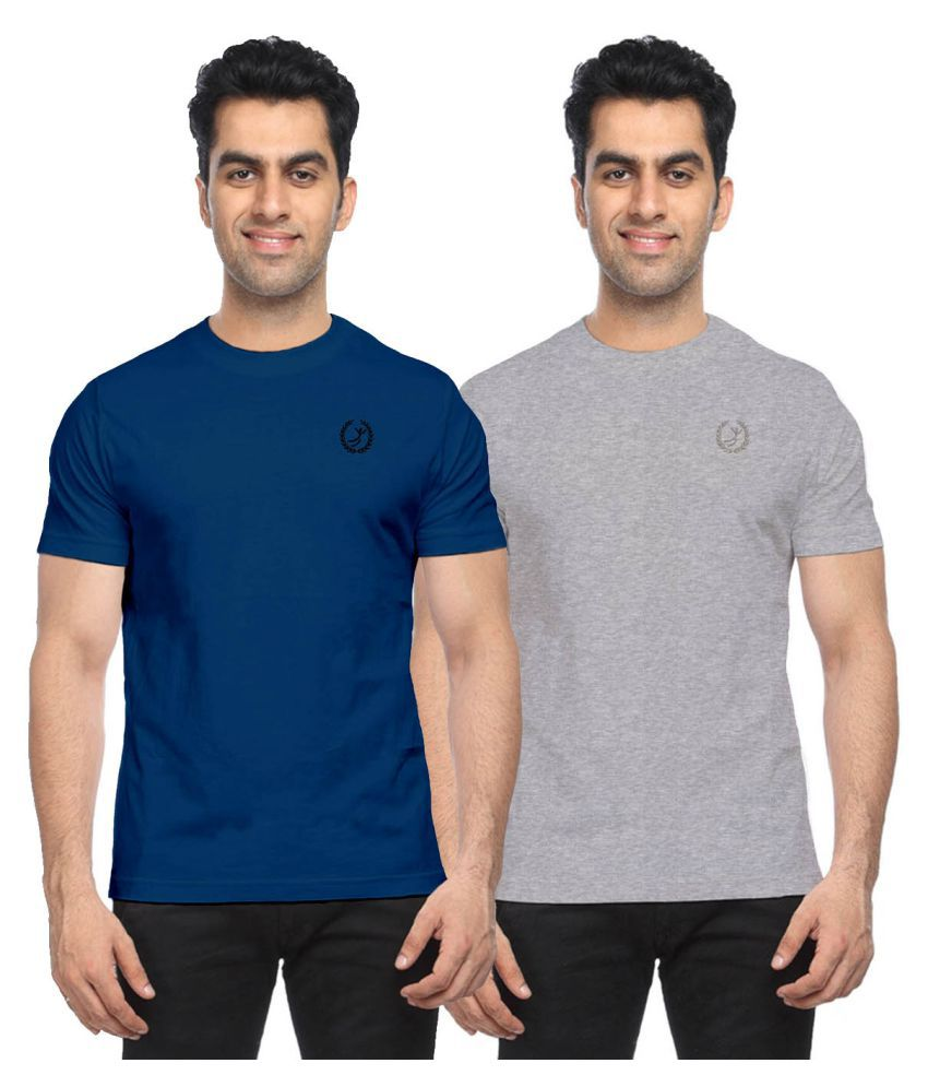 Moonwalker Multi Round T-Shirt Pack of 2