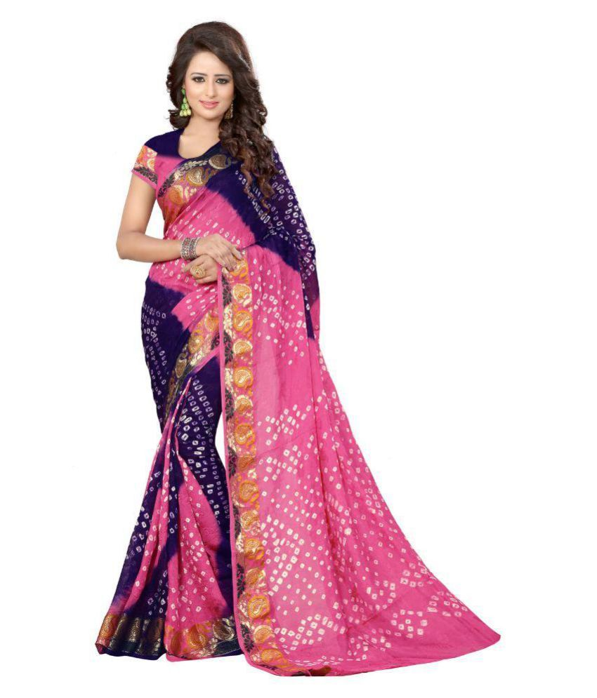 Nirja Creation Multicoloured Jacquard Saree