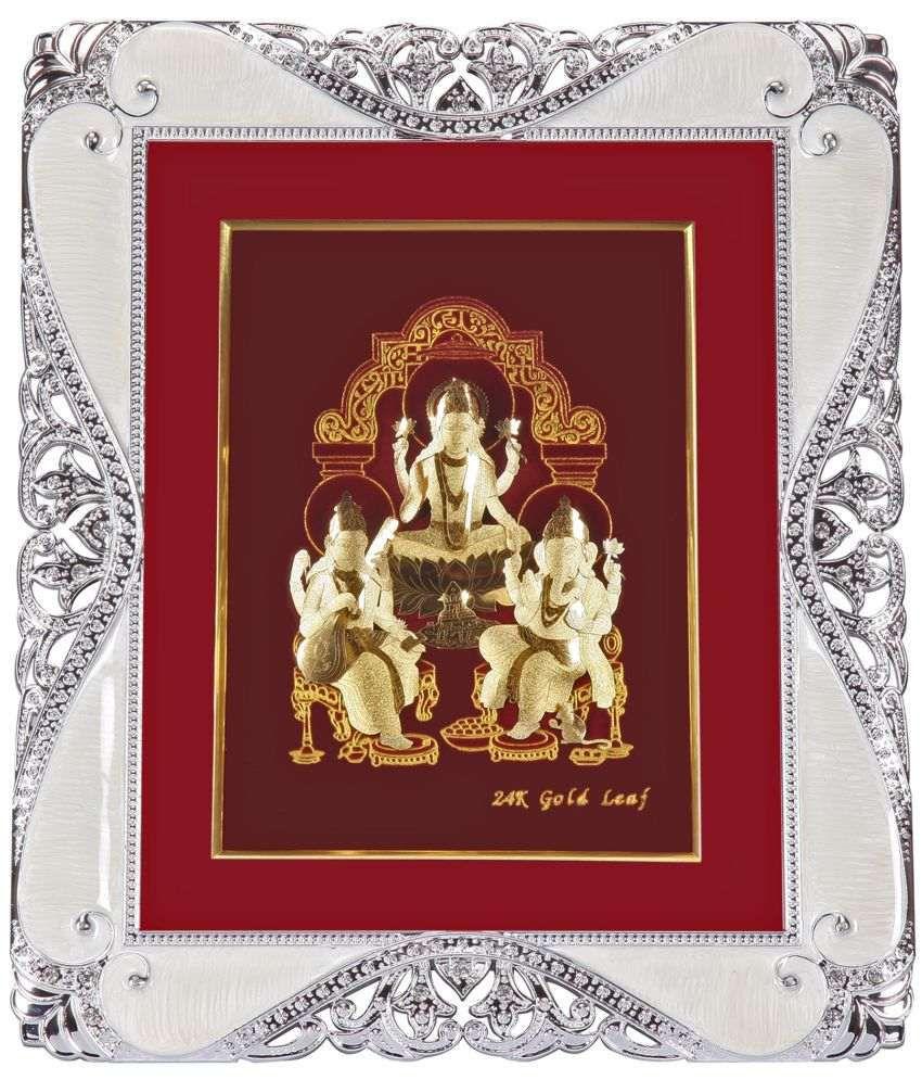 Paper Plus Laxmi Ganesh Wood Idol