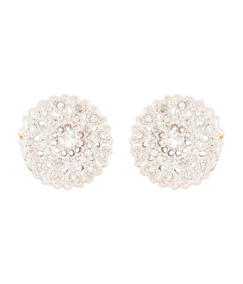 Aditri Cz American Diamond Studded Designer Tops