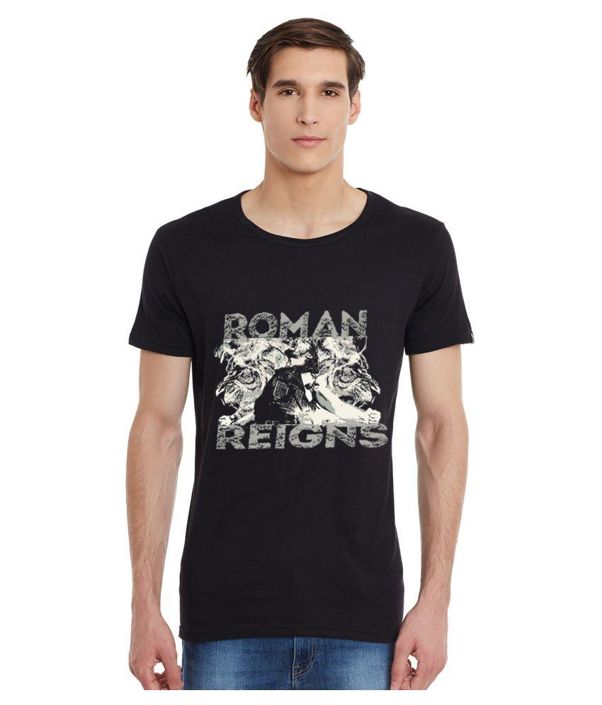 Incynk Black Round T-Shirt