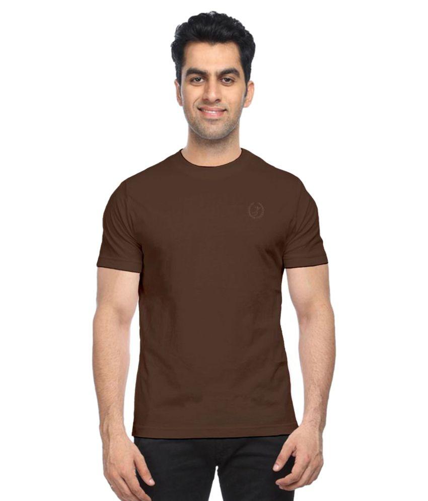 Moonwalker Brown Round T-Shirt