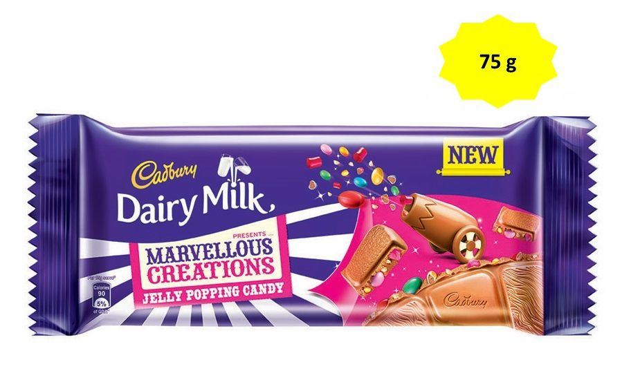 Cadbury Dairy Milk Marvellous Creations Milk Chocolate Jelly Popping