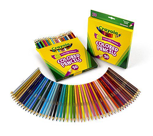 crayola 50 count colored pencils 2 pack buy online at best price